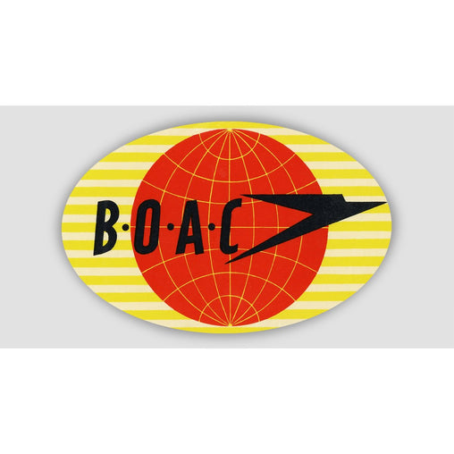 BOAC RETRO Sticker