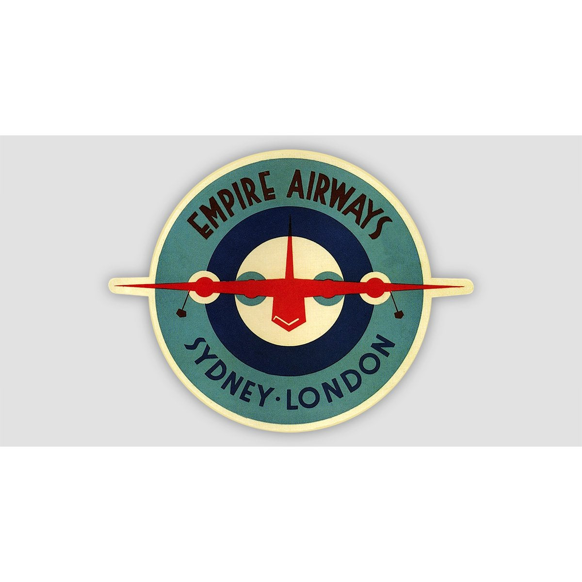 EMPIRE AIRWAYS RETRO Sticker