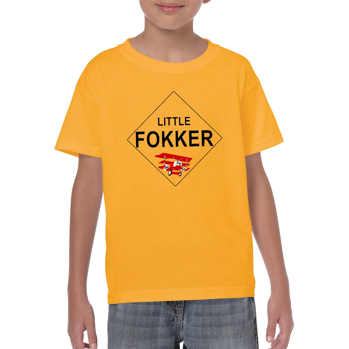 LITTLE FOKKER Youth Semi-Fitted T-Shirt