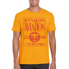 SALON D AVIATION Semi-Fitted Unisex T-Shirt