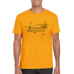 CHINOOK CUTAWAY Unisex Semi-Fitted T-Shirt
