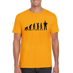EVOLUTION Unisex Semi-Fitted T-Shirt
