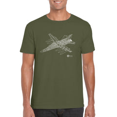 F-111 CUTAWAY Unisex Semi-Fitted T-Shirt