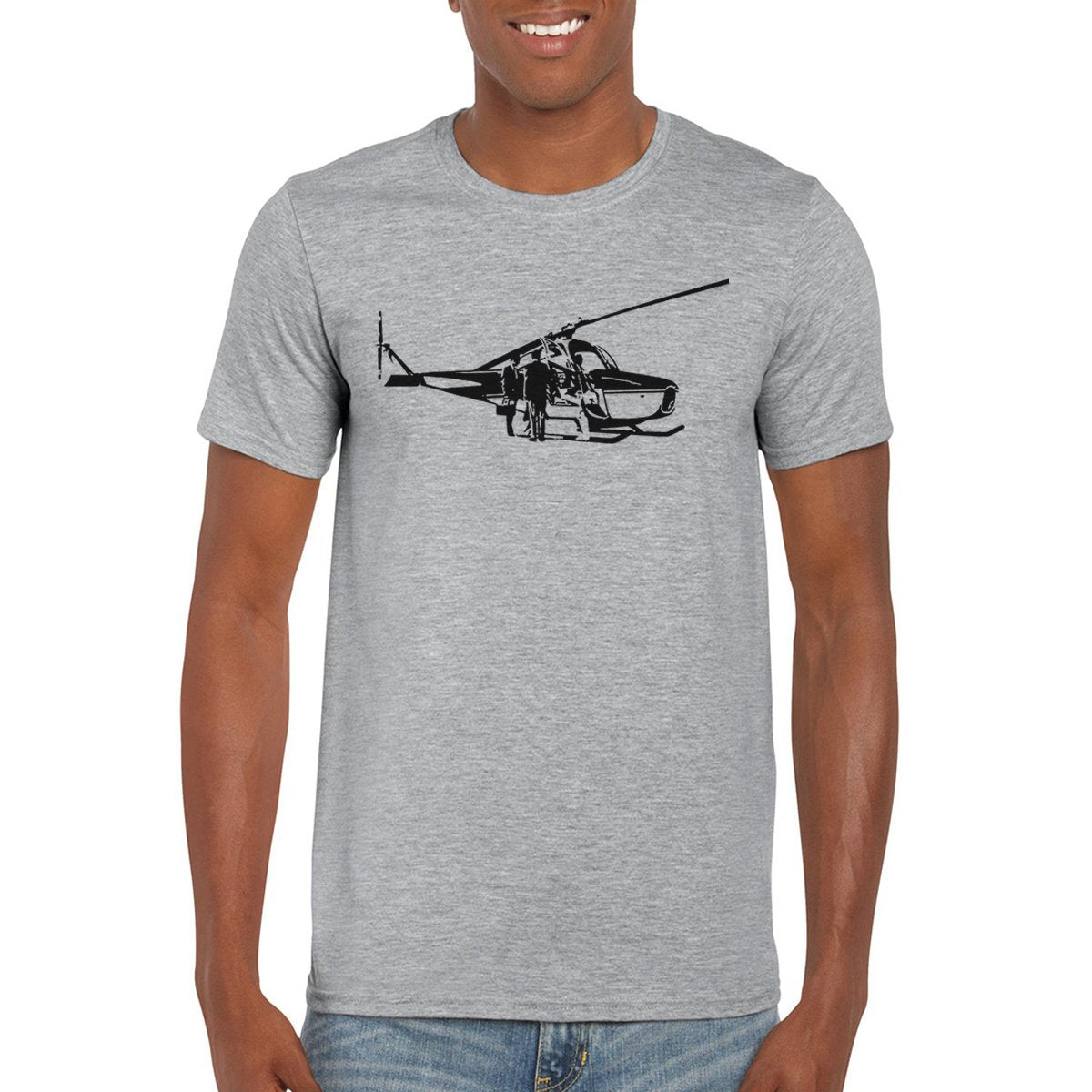 CH-1 SKYHOOK Helicopter T-Shirt