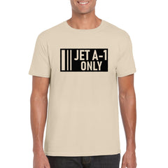 JET A-1 ONLY Unisex Semi-Fitted T-Shirt