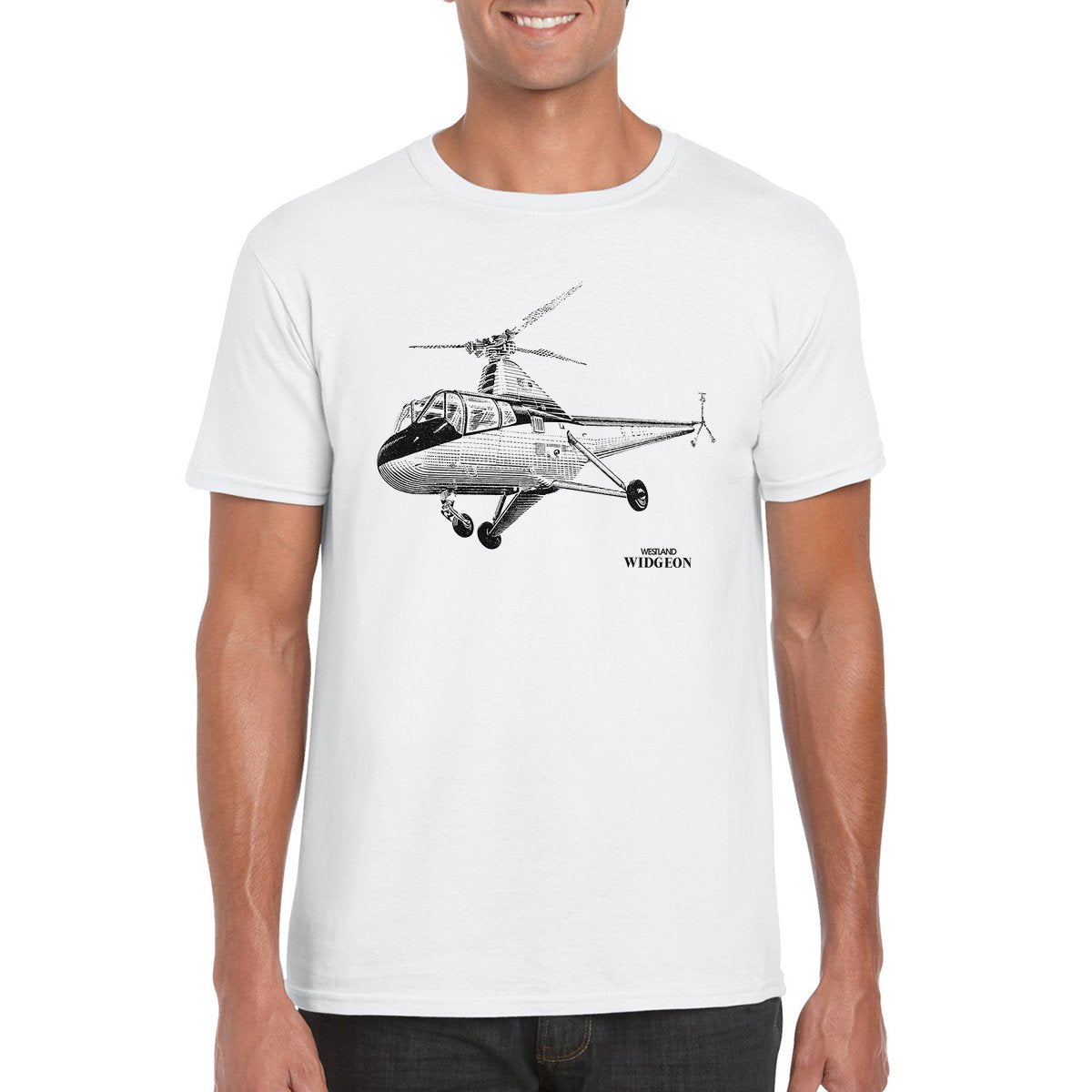 WESTLAND WIDGEON Helicopter T-Shirt