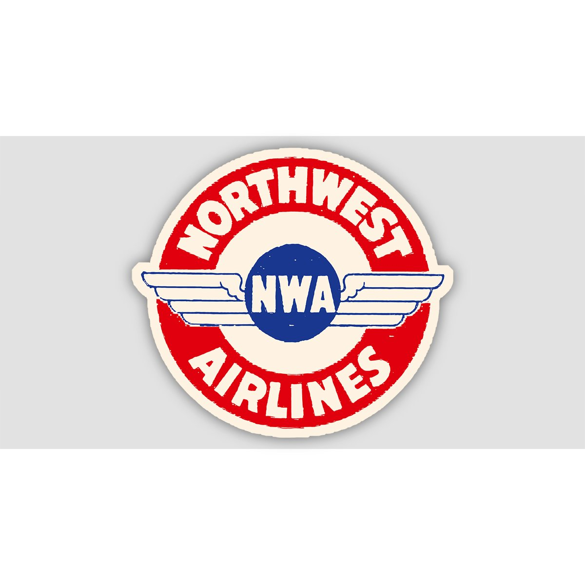 NORTHWEST AIRLINES RETRO Sticker