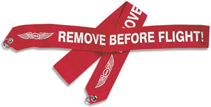 Remove Before Flight Banner