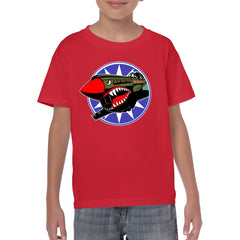 FLYING TIGERS Youth Semi-Fitted T-Shirt