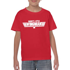 DADDY's LITTLE WINGMAN Youth Semi-Fitted T-Shirt