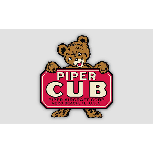 PIPER CUB Sticker