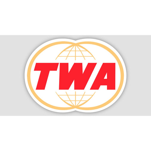 TWA RETRO Sticker