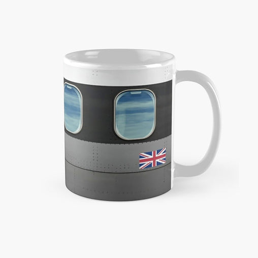 AIRLINE RETRO Design Mug 2