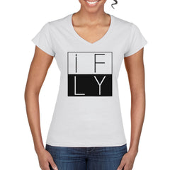 Women's IFLY semi-fitted V-neck T-Shirt