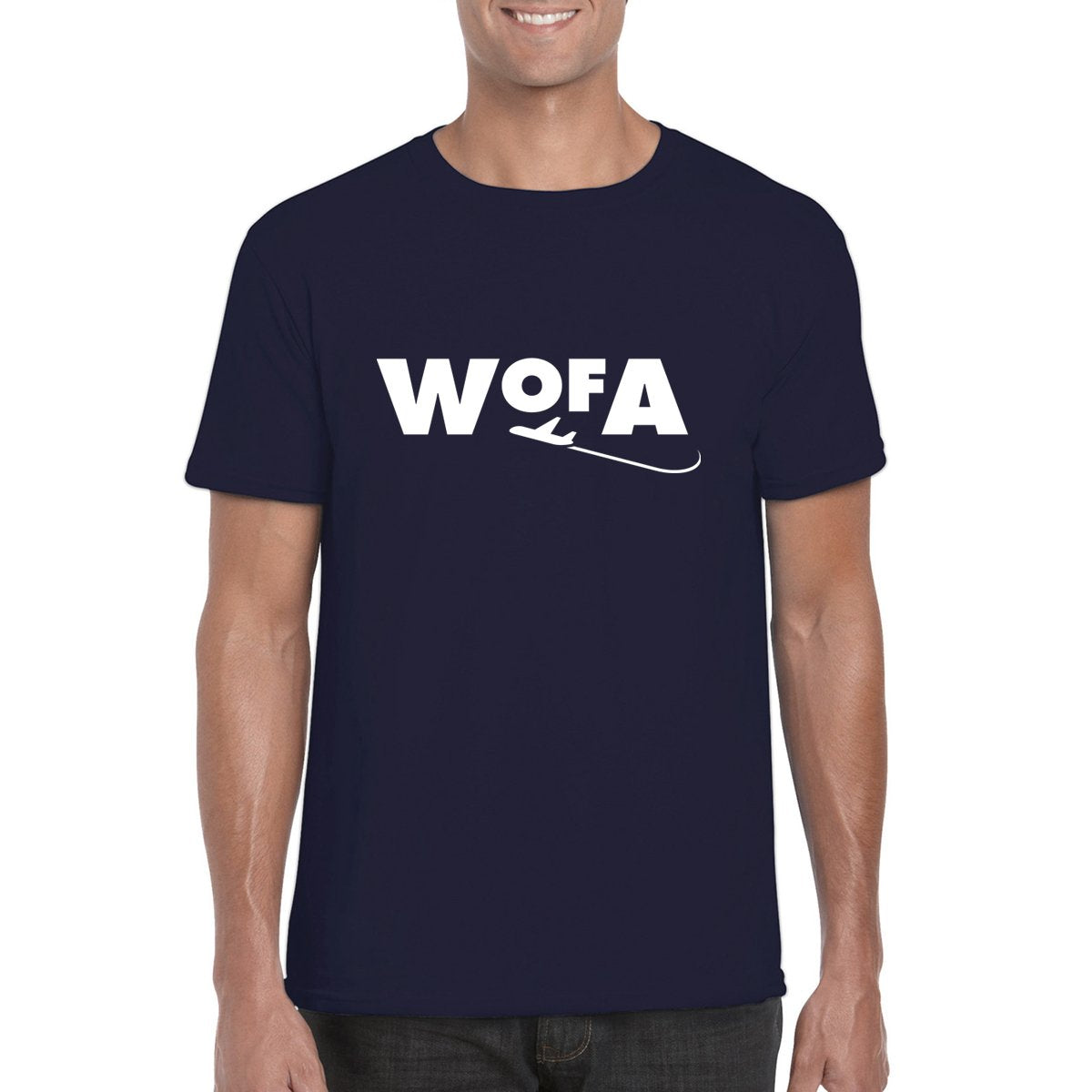 WORLD of AVIATION LOGO Men's T-Shirt