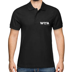 WORLD of AVIATION Men's Signature Polo