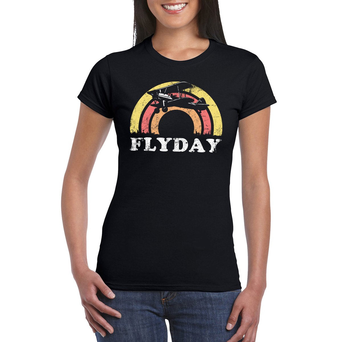 FLYDAY Semi-Fitted Women's T-Shirt