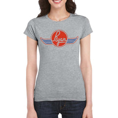 RYAN AERONAUTICAL COMPANY Women's Crew Neck Tee