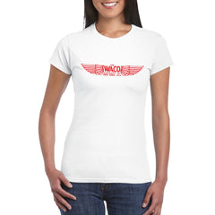 WACO AIRCRAFT CO Women's Semi-Fitted T-Shirt