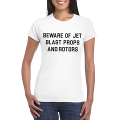 Women's BEWARE Semi-Fitted T-Shirt