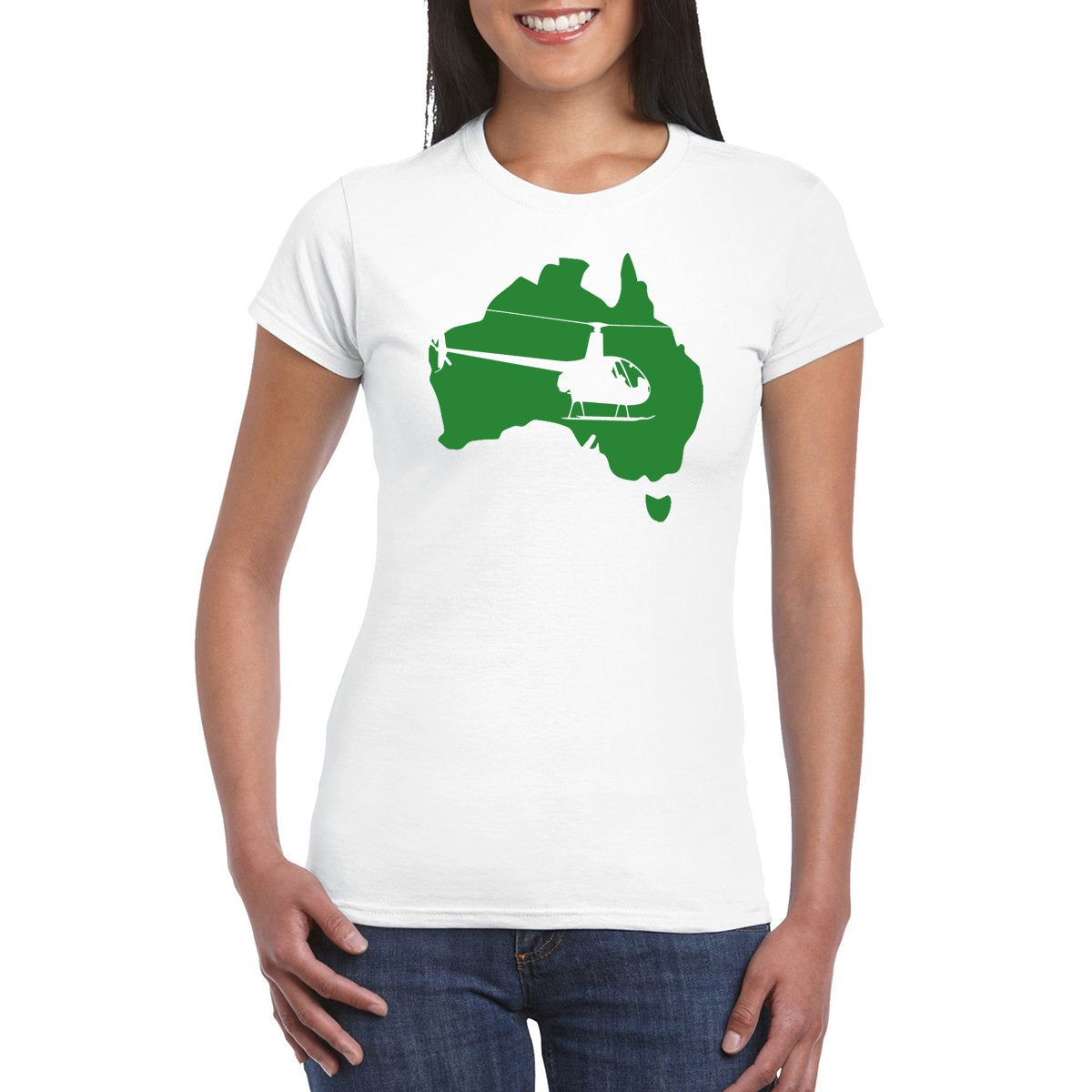 FLY AUS R22 Women's Aviation T-Shirt