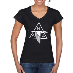 NORTH AMERICAN AVIATION Women's V- Neck T-Shirt