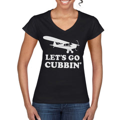 LET'S GO CUBBIN' Women's Semi-Fitted T-Shirt