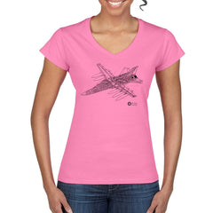 F-111 CUTAWAY Women's Semi-Fitted T-Shirt