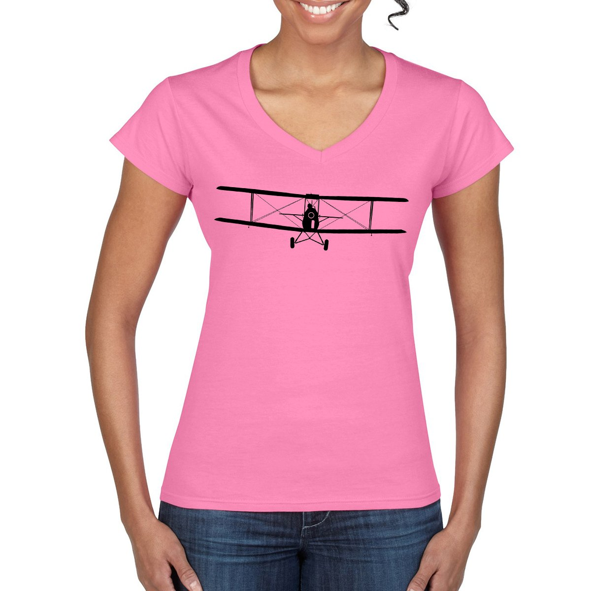 TIGERMOTH Women's Semi-Fitted T-Shirt