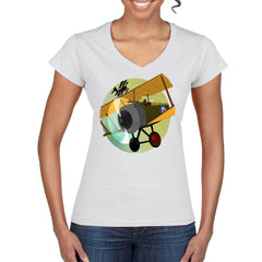 TALLY-HO Women's Semi-Fitted T-Shirt