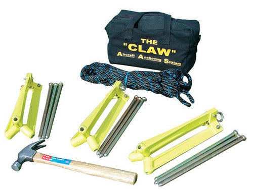 Aircraft Tiedown Kit (The Claw)