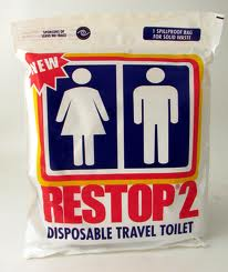 Disposable Travel Toilet