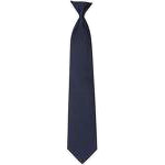 Clip-On Navy Tie
