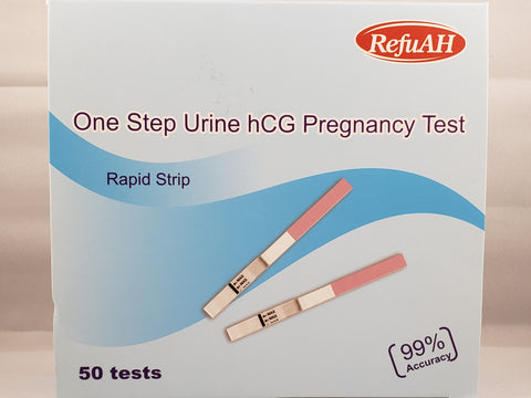 One Step Urine hCG Pregnancy Test - Rapid Strip