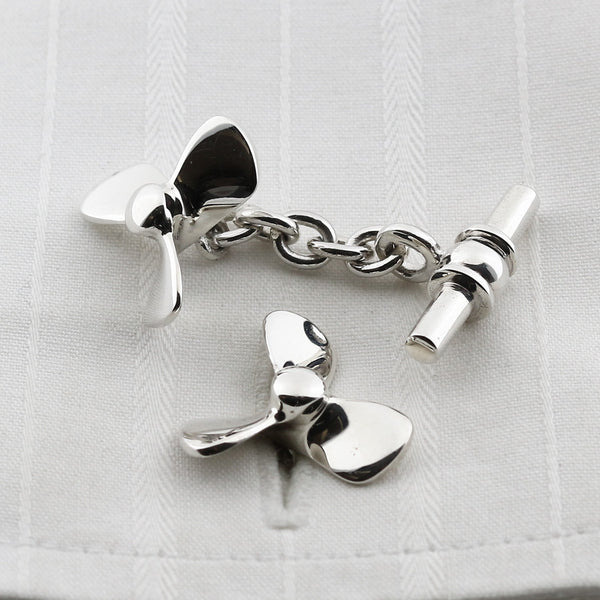 Boating cufflinks