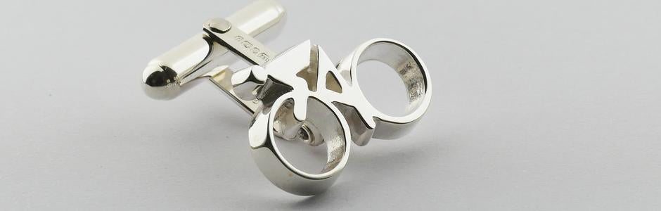 cycling cufflinks