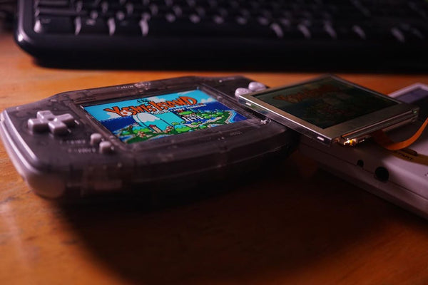 Game Boy Advance Backlit IPS LCD
