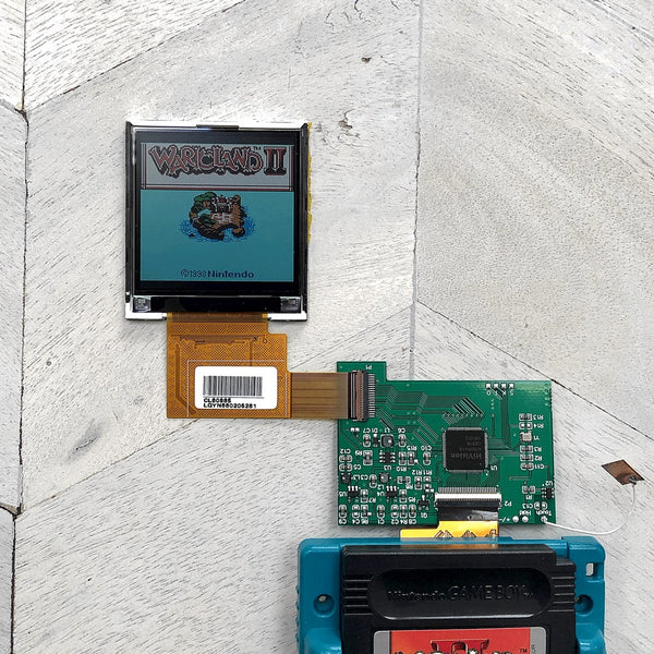 Game Boy Color Backlit LCD