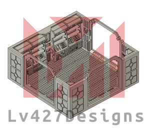 Lv427-designs - Sci Fi Corridor Terrain - 3-way