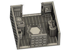 Load image into Gallery viewer, Imperial Bunker Attachment - lv427-designs.com-free-corridor terrain