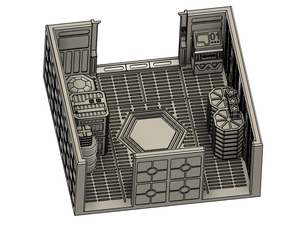 Imperial Bunker Attachment - lv427-designs.com-free-corridor terrain