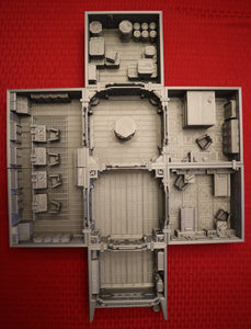 Lv427-designs - Sci Fi Corridor Terrain - Space Station
