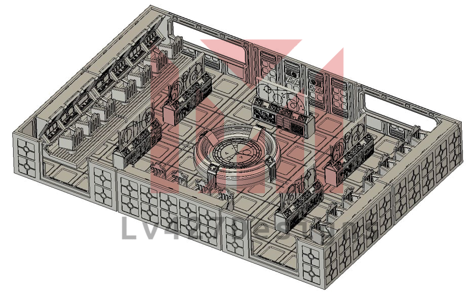 lv427-designs.com sci fi modular corridor - command center one-1