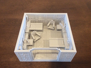 Lv427-designs - Sci Fi Corridor Terrain - Small Med Bay One STL