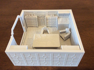 Lv427-designs - Sci Fi Corridor Terrain - Meeting Room STL