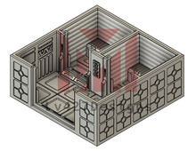 Load image into Gallery viewer, Lv427-designs - Sci Fi Corridor Terrain - Small Security Cell STL