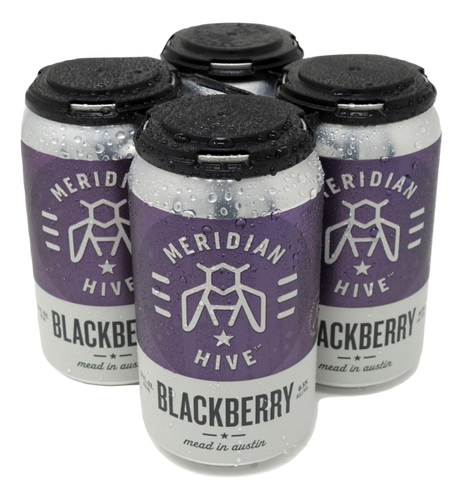 Meridian Hive Blackberry Cider 4-pack 12 oz cans