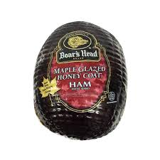 Boar's Head Maple Glazed Honey Coat Ham Sliced 8 oz. Bag