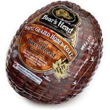 Boar's Head Maple Glazed Honey Coat Turkey Sliced 8 oz. Bag