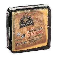 Boars Head Black Wax Cheddar 8 oz.